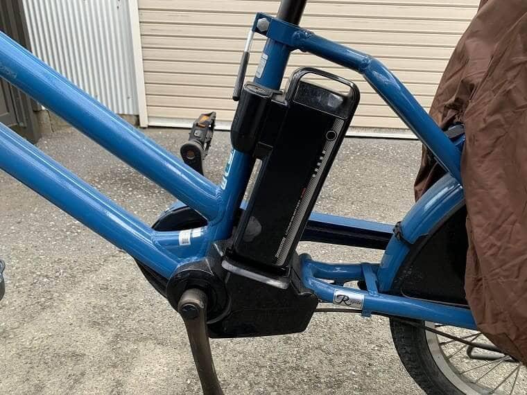 電動アシスト付き自転車のバッテリー