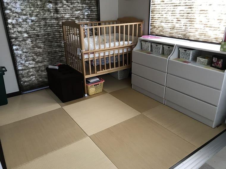 赤ちゃんを迎えるために整えられた部屋