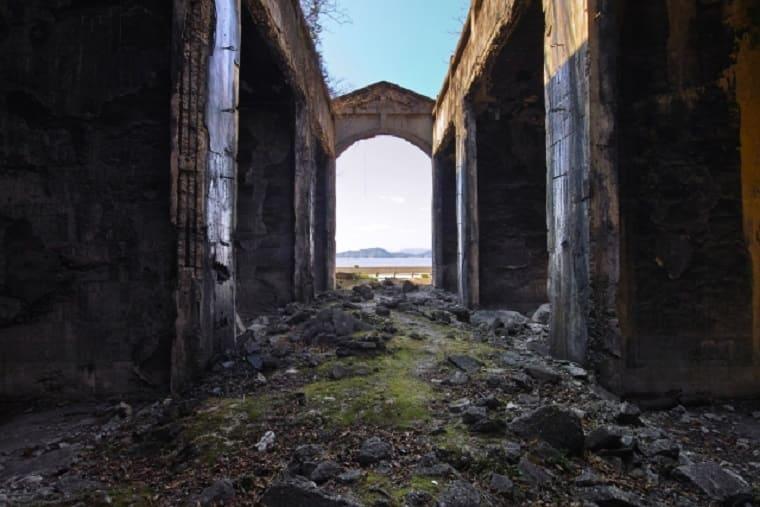 広島県大久野島の戦争遺跡