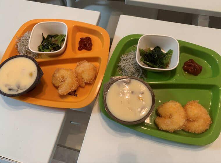 3歳の偏食双子女子の夕飯