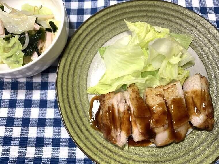 ヨシケイのカットミールで作った料理