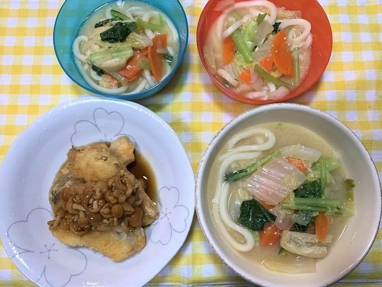 ヨシケイカットミールで作った料理